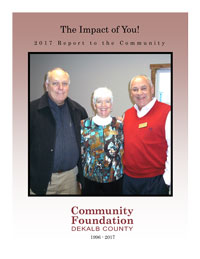 2015 Community Foundation DeKalb County Annual Report