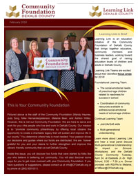 Community Foundation DeKalb County Newsletter
