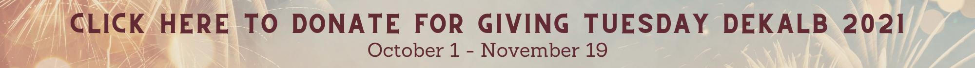 Community Foundation DeKalb County Giving Tuesday